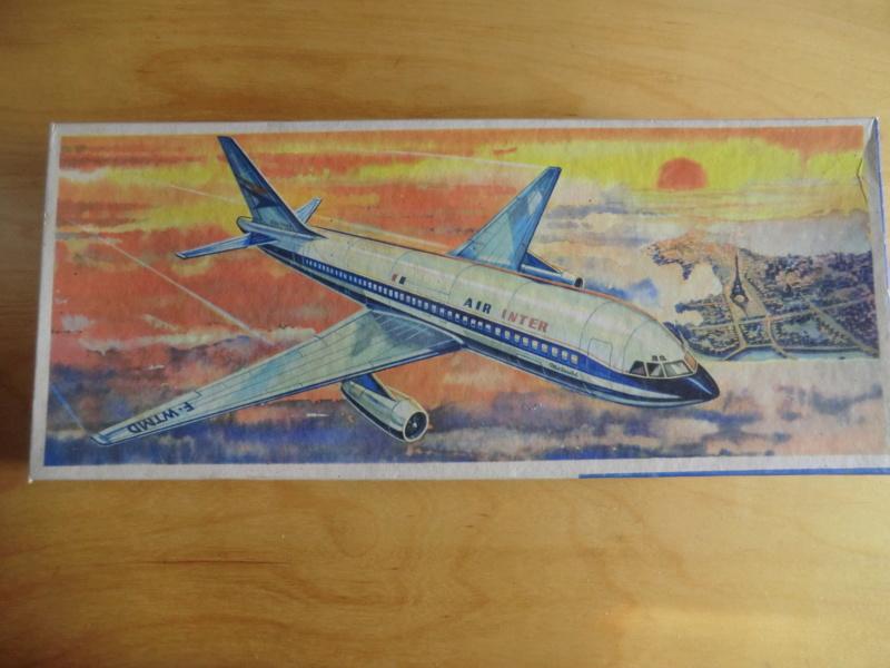 Mercure 1/100 Flugzeug-Modellbaukasten Mercur23