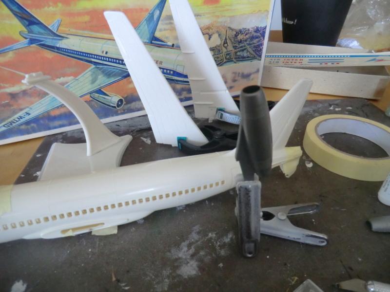 Mercure 1/100 Flugzeug-Modellbaukasten Mercur30