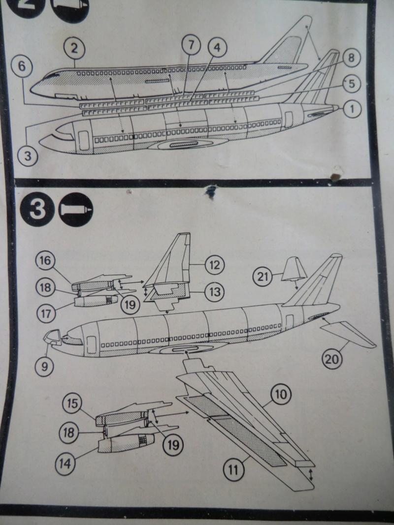 Mercure 1/100 Flugzeug-Modellbaukasten Mercur31