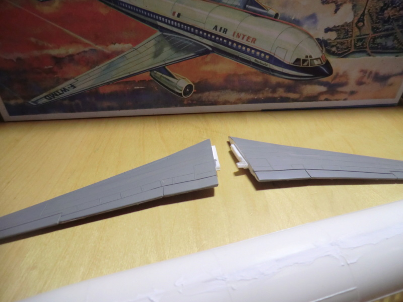 Mercure 1/100 Flugzeug-Modellbaukasten Mercur38