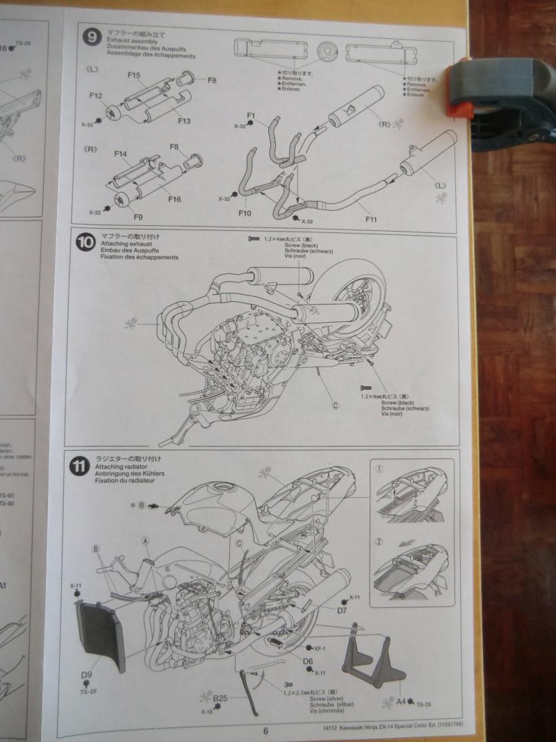 [TAMIYA] KAWASAKI NINJA ZX-14 Tamiya 14112 1/12 Motos_32