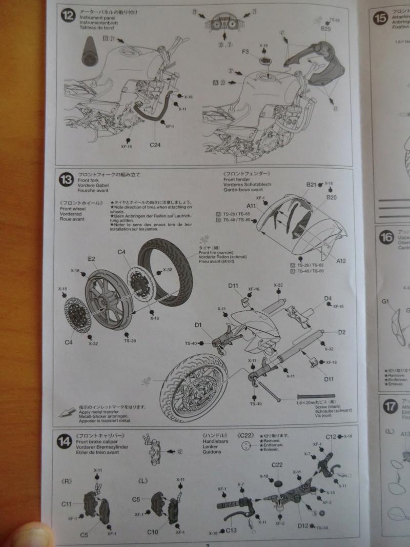 [TAMIYA] KAWASAKI NINJA ZX-14 Tamiya 14112 1/12 Motos_33