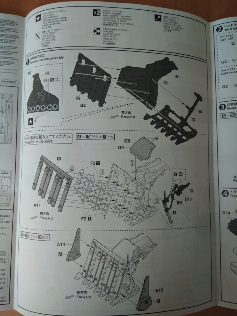 [HASEGAWA] YANMAR YH6115 COMBINE YH6115 1/35ème Réf 66007 Revu_k13