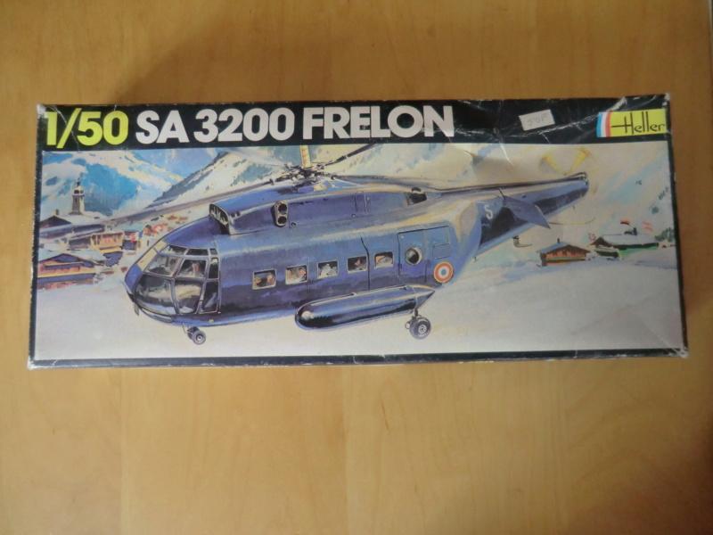 SUD AVIATION SE 3200 FRELON 1/50ème Réf 498 Sa-32010
