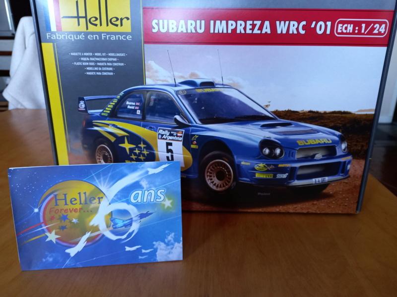Challenge des 6 ans   SUBARU IMPREZA WRC  1/24 Réf 80761 Subar400