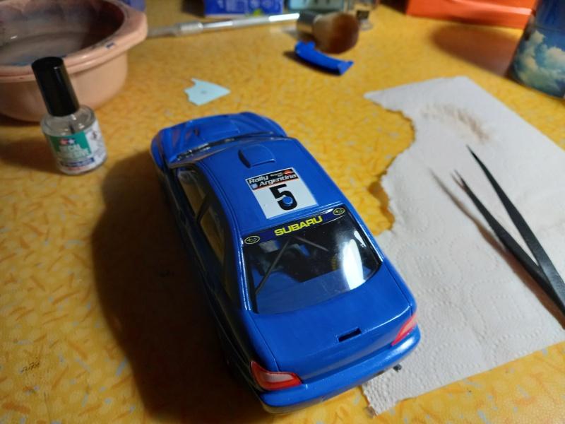 Challenge des 6 ans   SUBARU IMPREZA WRC  1/24 Réf 80761 - Page 3 Subar452