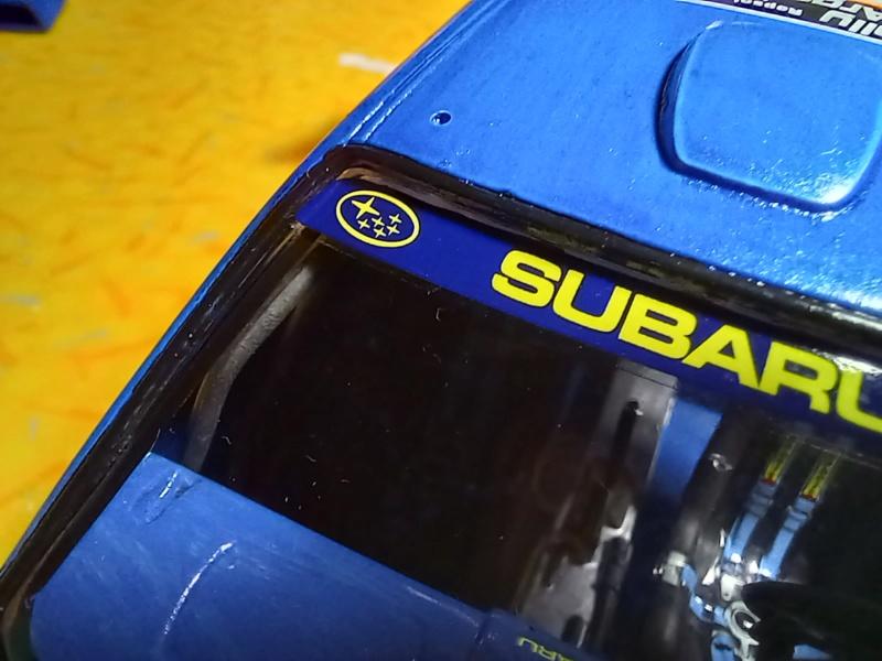 Challenge des 6 ans   SUBARU IMPREZA WRC  1/24 Réf 80761 - Page 3 Subar454