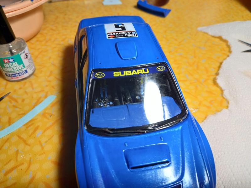 Challenge des 6 ans   SUBARU IMPREZA WRC  1/24 Réf 80761 - Page 3 Subar456