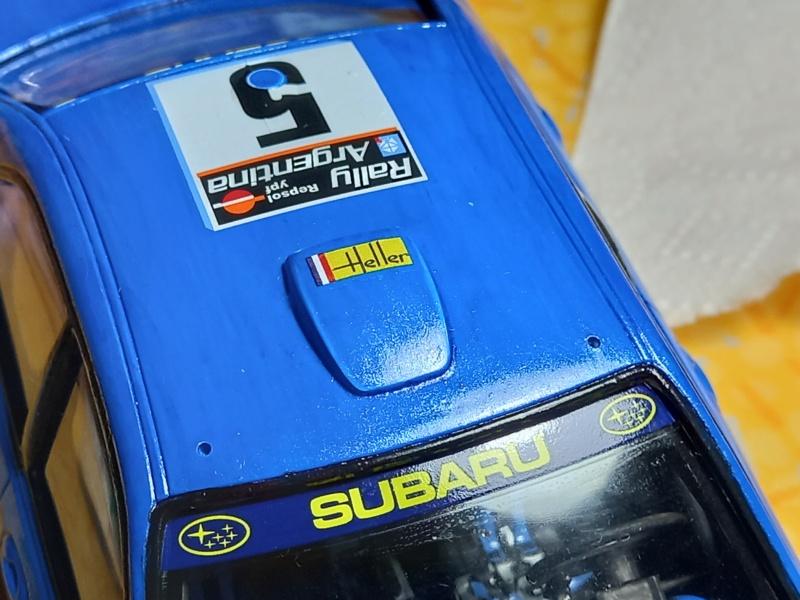 Challenge des 6 ans   SUBARU IMPREZA WRC  1/24 Réf 80761 - Page 3 Subar457