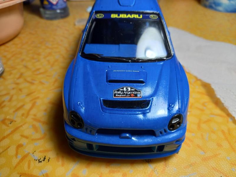 Challenge des 6 ans   SUBARU IMPREZA WRC  1/24 Réf 80761 - Page 3 Subar459