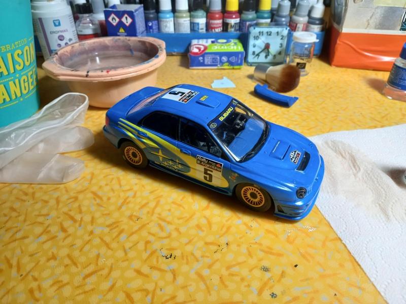 Challenge des 6 ans   SUBARU IMPREZA WRC  1/24 Réf 80761 - Page 3 Subar462