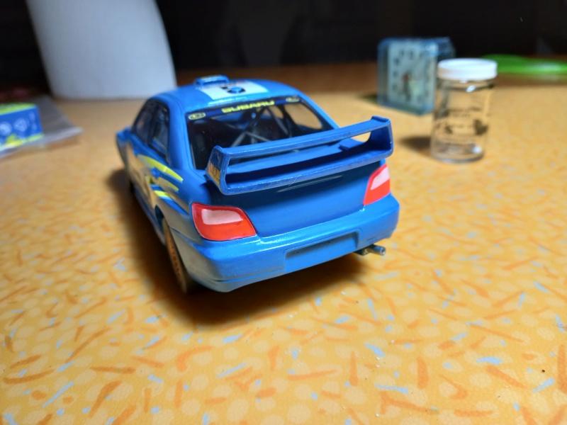 Challenge des 6 ans   SUBARU IMPREZA WRC  1/24 Réf 80761 - Page 3 Subar463