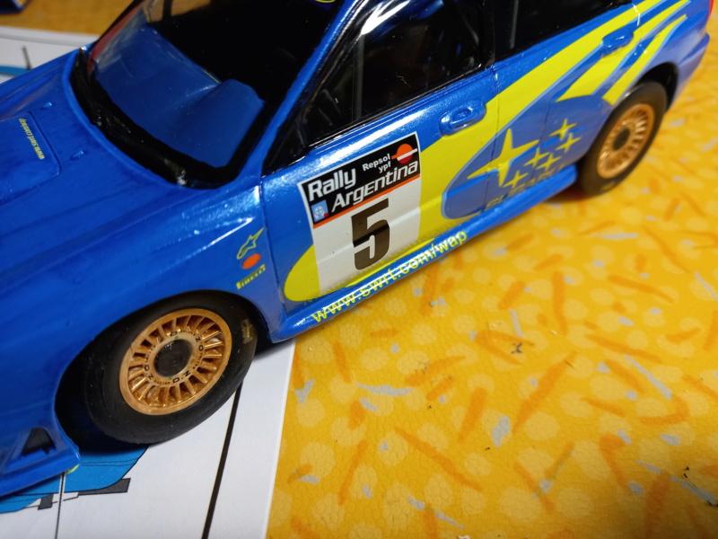 Challenge des 6 ans   SUBARU IMPREZA WRC  1/24 Réf 80761 - Page 4 Subar467