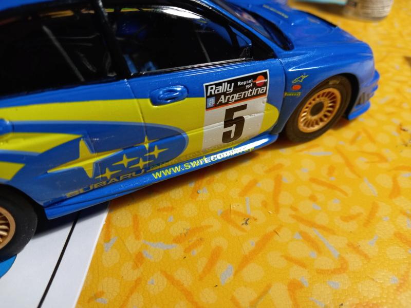 Challenge des 6 ans   SUBARU IMPREZA WRC  1/24 Réf 80761 - Page 4 Subar468