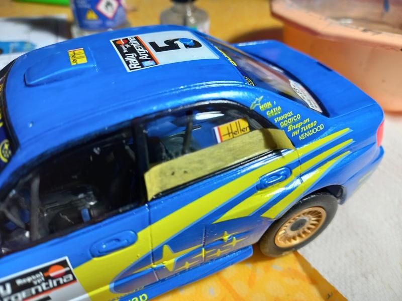 Challenge des 6 ans   SUBARU IMPREZA WRC  1/24 Réf 80761 - Page 4 Subar471