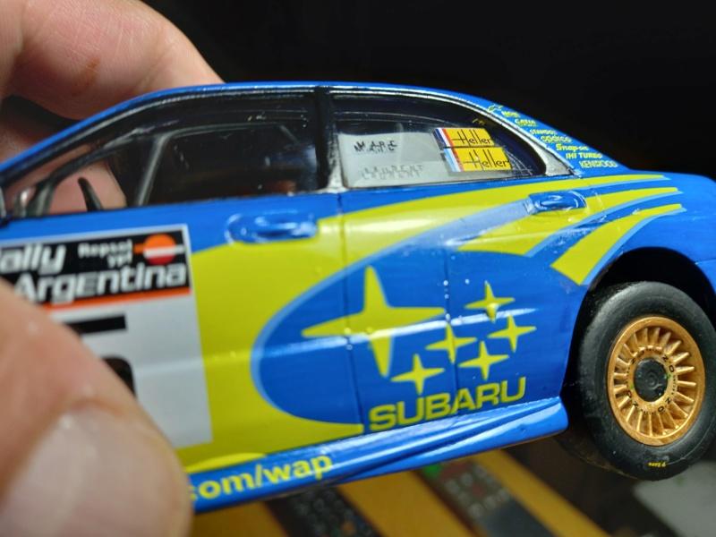 Challenge des 6 ans   SUBARU IMPREZA WRC  1/24 Réf 80761 - Page 4 Subar473