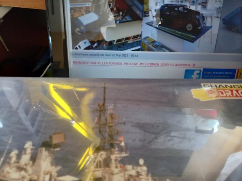 Montage chrono [SHANGHAÏ DRAGON] Destroyer lance missiles U.S.S COCHRANE 1/700ème Réf 7024 Uss_co15