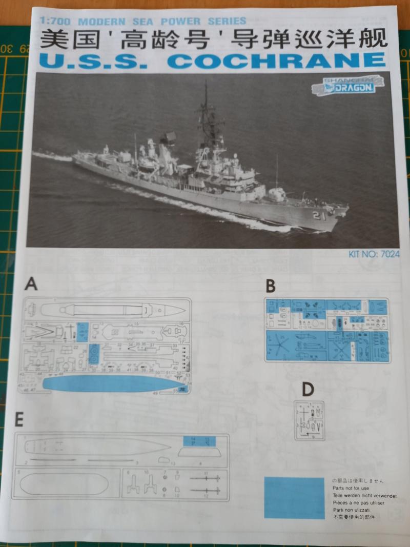 Montage chrono [SHANGHAÏ DRAGON] Destroyer lance missiles U.S.S COCHRANE 1/700ème Réf 7024 Uss_co16