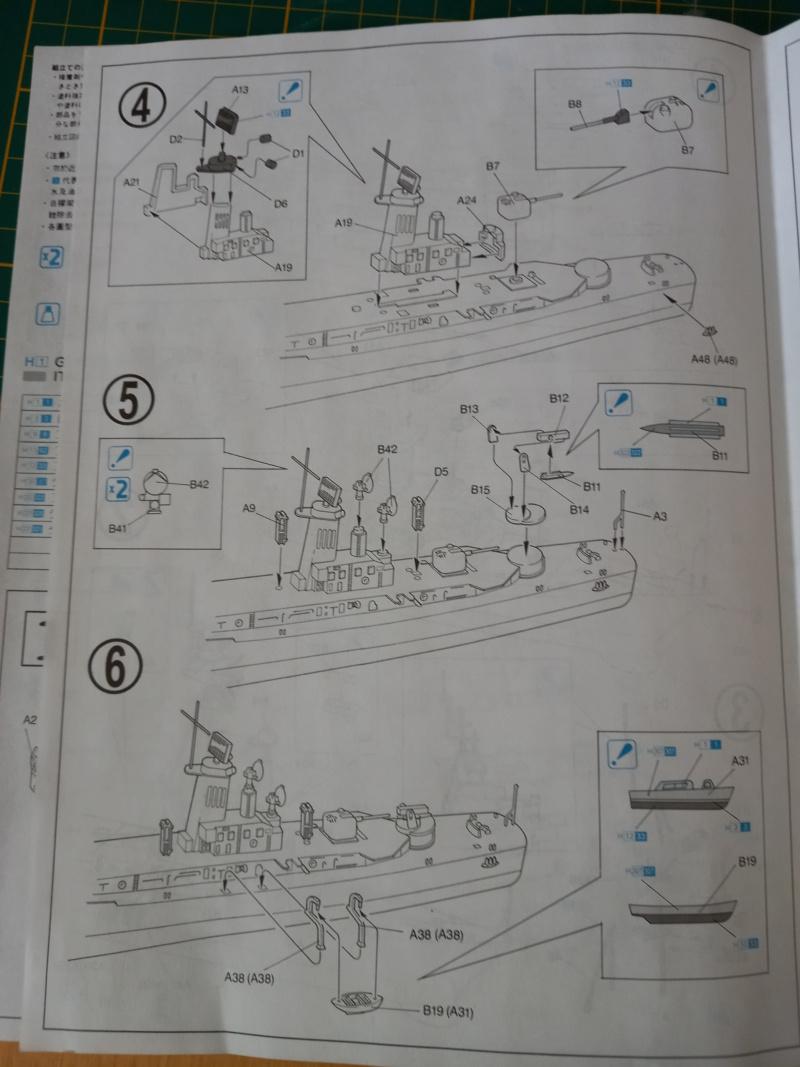 Montage chrono [SHANGHAÏ DRAGON] Destroyer lance missiles U.S.S COCHRANE 1/700ème Réf 7024 Uss_co20
