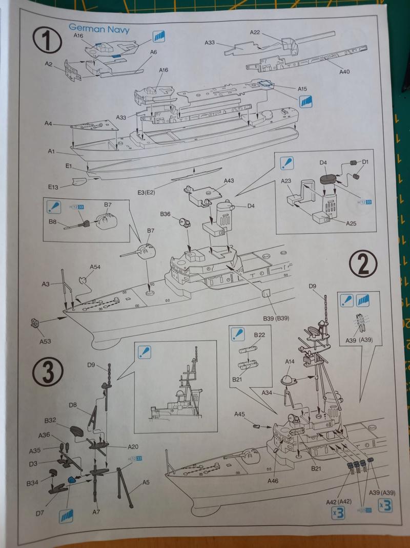 Montage chrono [SHANGHAÏ DRAGON] Destroyer lance missiles U.S.S COCHRANE 1/700ème Réf 7024 Uss_co21