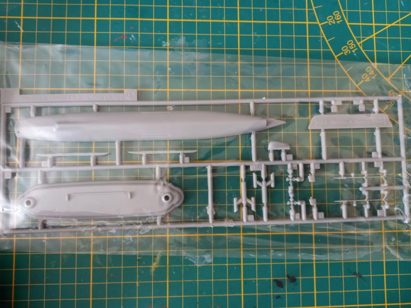 Montage chrono [SHANGHAÏ DRAGON] Destroyer lance missiles U.S.S COCHRANE 1/700ème Réf 7024 Uss_co27
