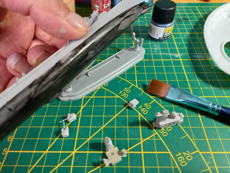 Montage chrono [SHANGHAÏ DRAGON] Destroyer lance missiles U.S.S COCHRANE 1/700ème Réf 7024 Uss_co57