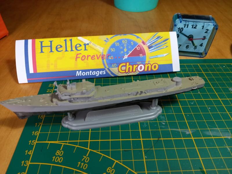 Montage chrono [SHANGHAÏ DRAGON] Destroyer lance missiles U.S.S COCHRANE 1/700ème Réf 7024 Uss_co58