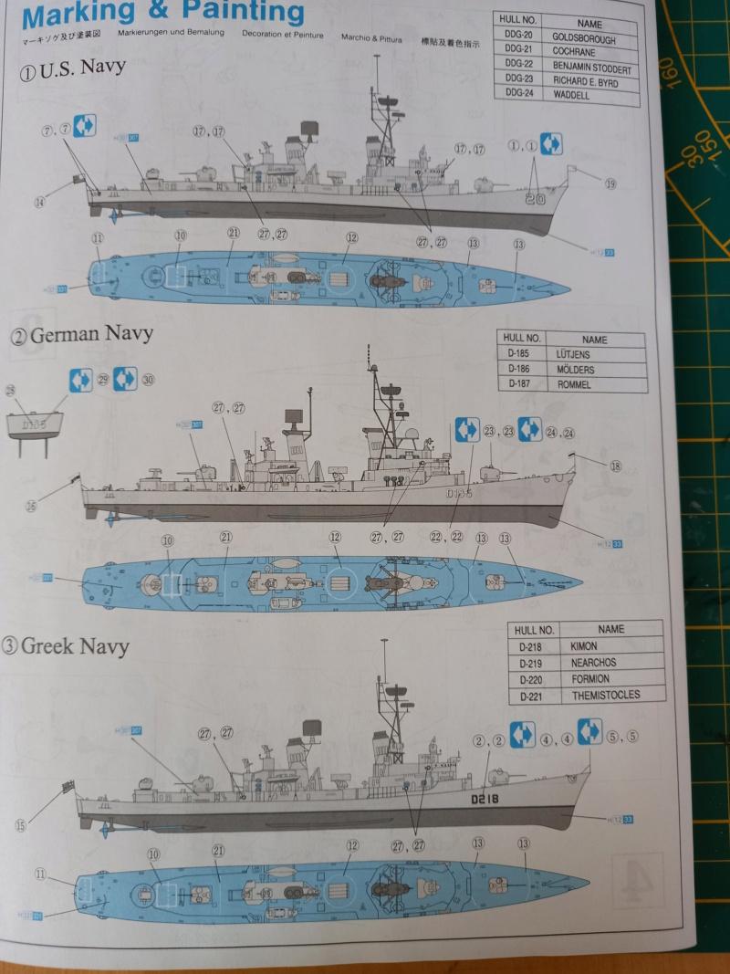 Montage chrono [SHANGHAÏ DRAGON] Destroyer lance missiles U.S.S COCHRANE 1/700ème Réf 7024 - Page 2 Uss_co59
