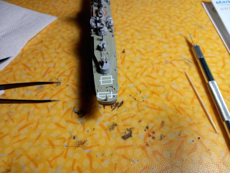 Montage chrono [SHANGHAÏ DRAGON] Destroyer lance missiles U.S.S COCHRANE 1/700ème Réf 7024 - Page 3 Uss_co86