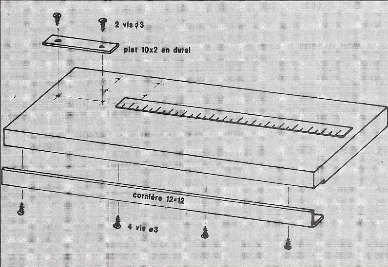 Cisaille a baguette 510