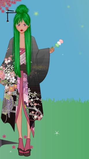 Spring Kimono Gallery Screen13