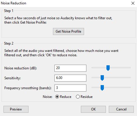 """Traitement de la voix dans Audacity (avoir un effet plus """"pro"""") Noise_10"""