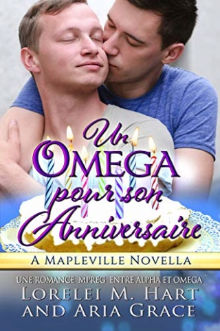 Un oméga pour son anniversaire -  Lorelei M. Hart et Aria Grace 51i0cy10