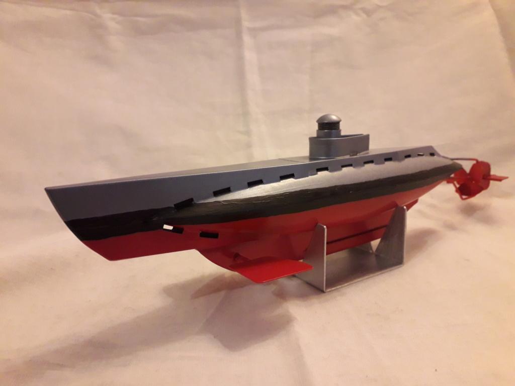 U48 Tinplate Clockwork Submarine  20181214