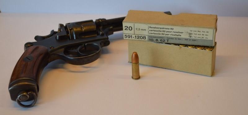 Les revolvers Suisses 1882 - 82 / 29 et leur munition 75-sui10