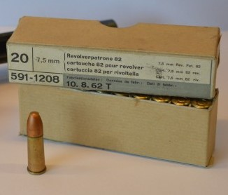 Revolver 1882/1929 et tir de SW 32 75-sui11