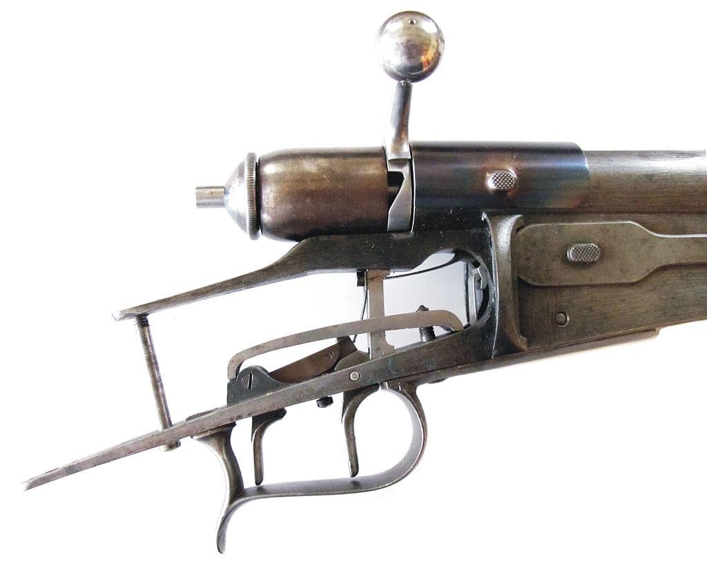 ça ressemble a une carabine de match Suisse Double10