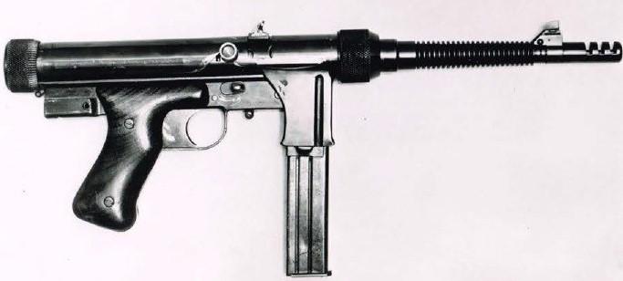Baïonnette du pistolet-mitrailleur Suisse Rexim-Favor Rexim-10