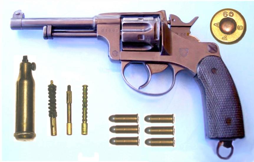 Les revolvers Suisses 1882 - 82 / 29 et leur munition Schwei10