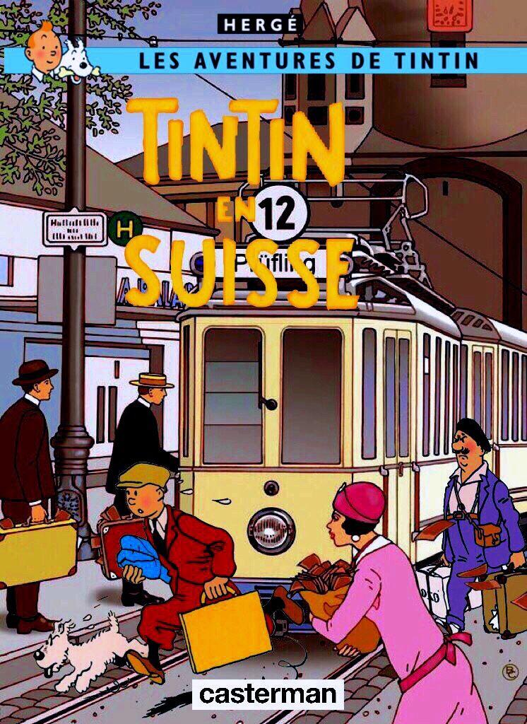 Parabellum Suisse P 00  ( et P 00 / 06 )  Séries E Tintin11