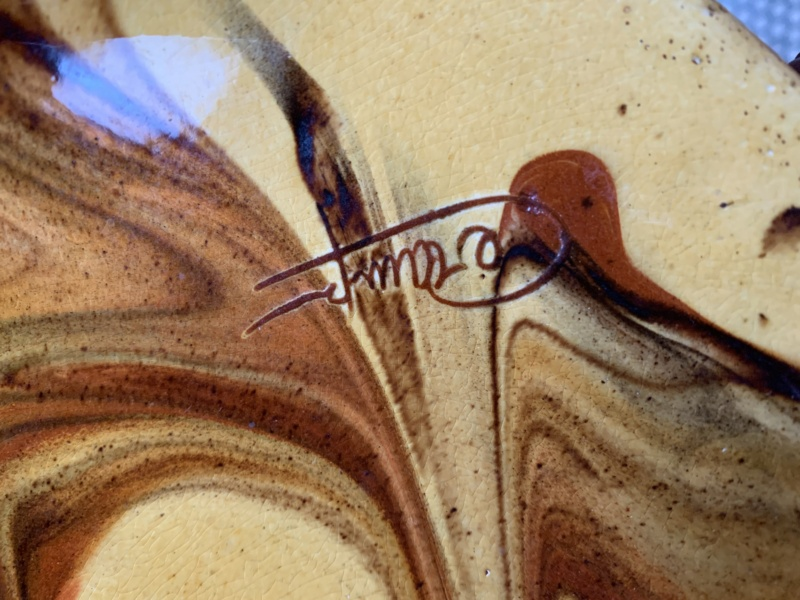 Unknown pottery signature - Ceramy, Spain  186abc10