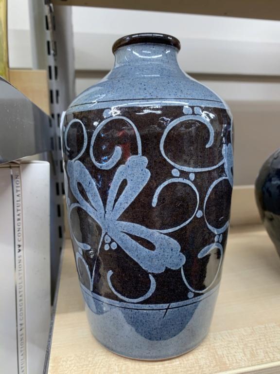 Sgraffito vase, NH mark - Nicholas Hillyard  47eb1e10