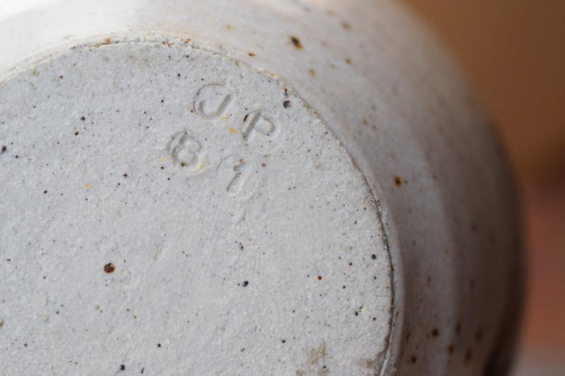 Studio pottery mug, JP mark 1981 Dsc_0246