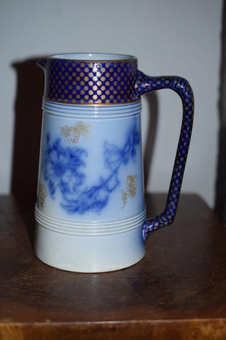 Unknown mark on Old jug - Victorian Staffordshire flow-blue  Dsc_0624
