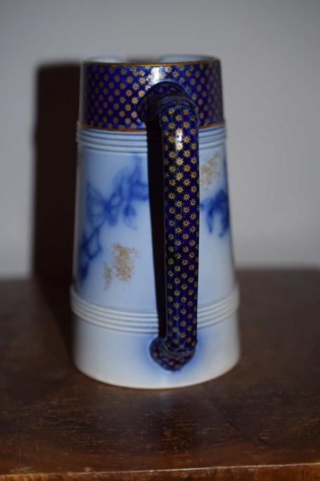 Unknown mark on Old jug - Victorian Staffordshire flow-blue  Dsc_0625