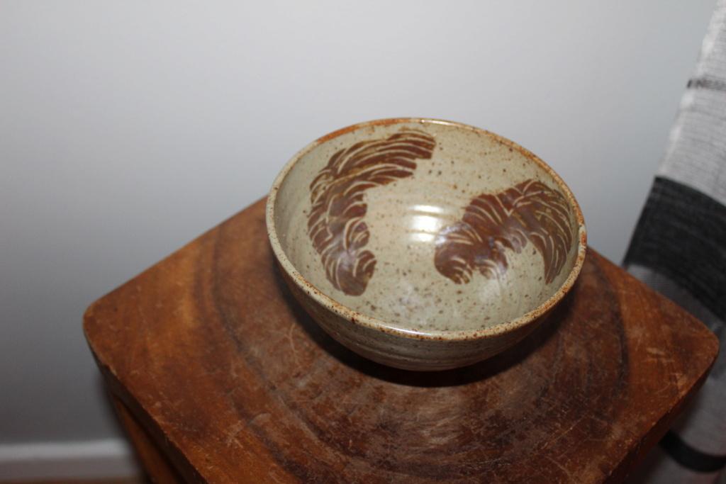 Studio pottery bowl Img_4414