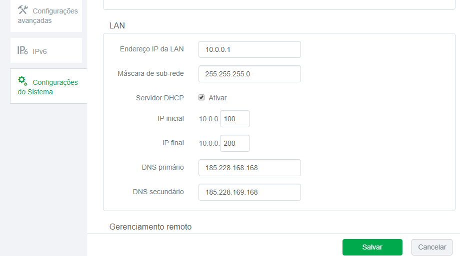 CleanBrowsing: Alternativa ao OpenDNS Captur25