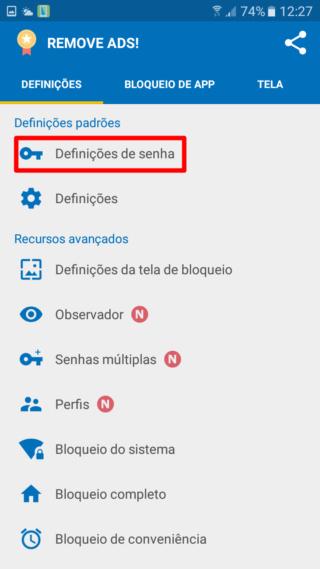 Bloqueadores para Android Defini10