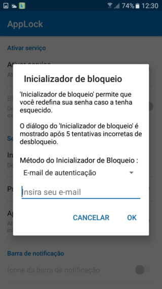 Bloqueadores para Android Digite10