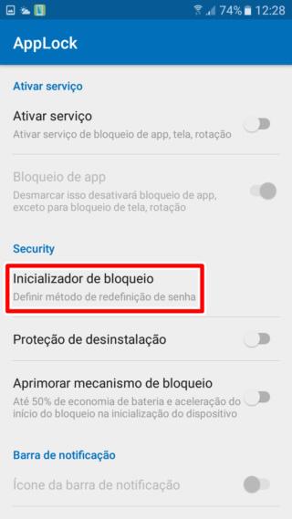 Bloqueadores para Android Inicia10